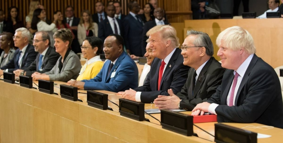 President Donald Trump at the 72nd United Nations General Assembly on September 18, 2017 (White House Photo/Shealah Craighead)