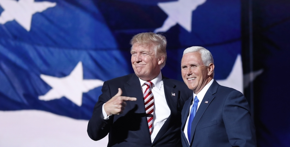 President-elect Donald Trump and running mate Michael Pence