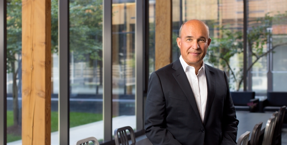 Jim Balsillie will deliver a keynote speech at the IMF Statistical Forum on November 20, 2018.