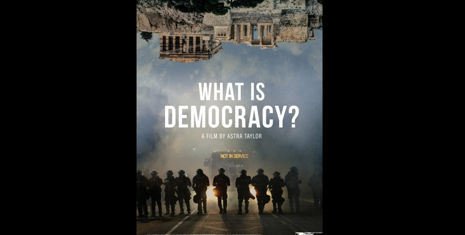 """What is Democracy?"" Promotional Poster"