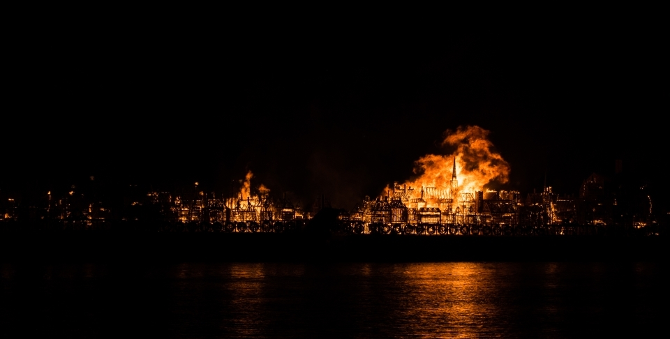 The Great Fire of London (Carl Sloan/Shutterstock)