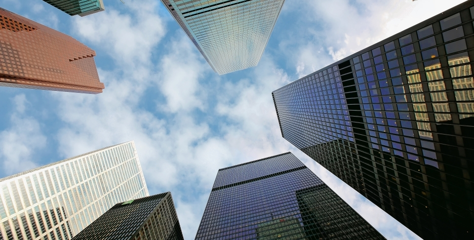 Toronto's financial district. (Shutterstock)