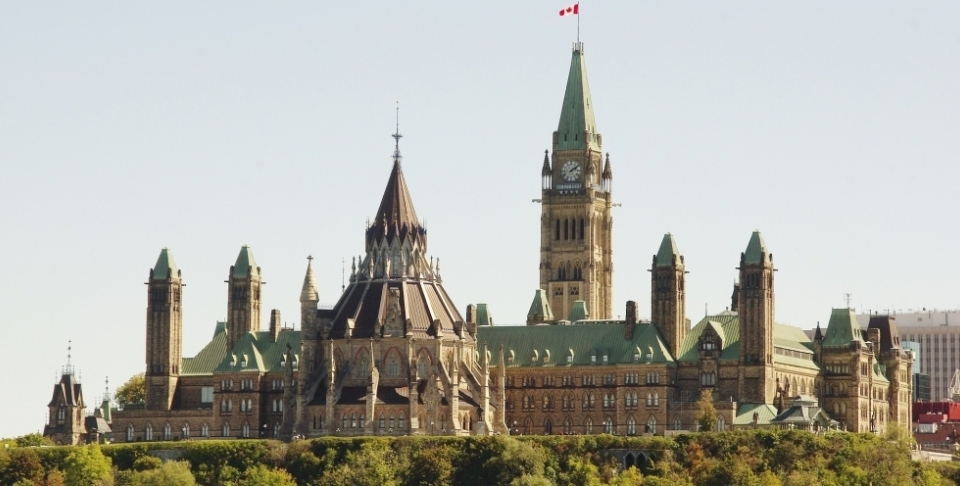 Ottawa's Parliament Hill. (Stock photo)