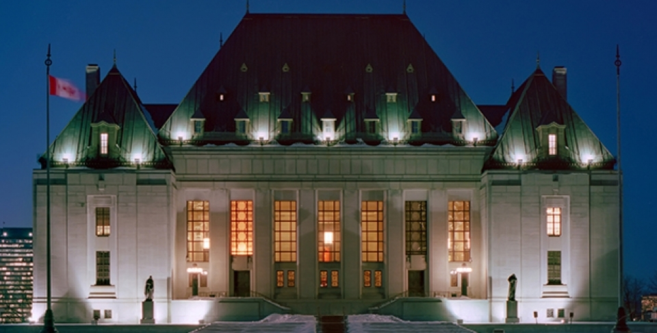 Supreme Court of Canada. (Shutterstock Image)