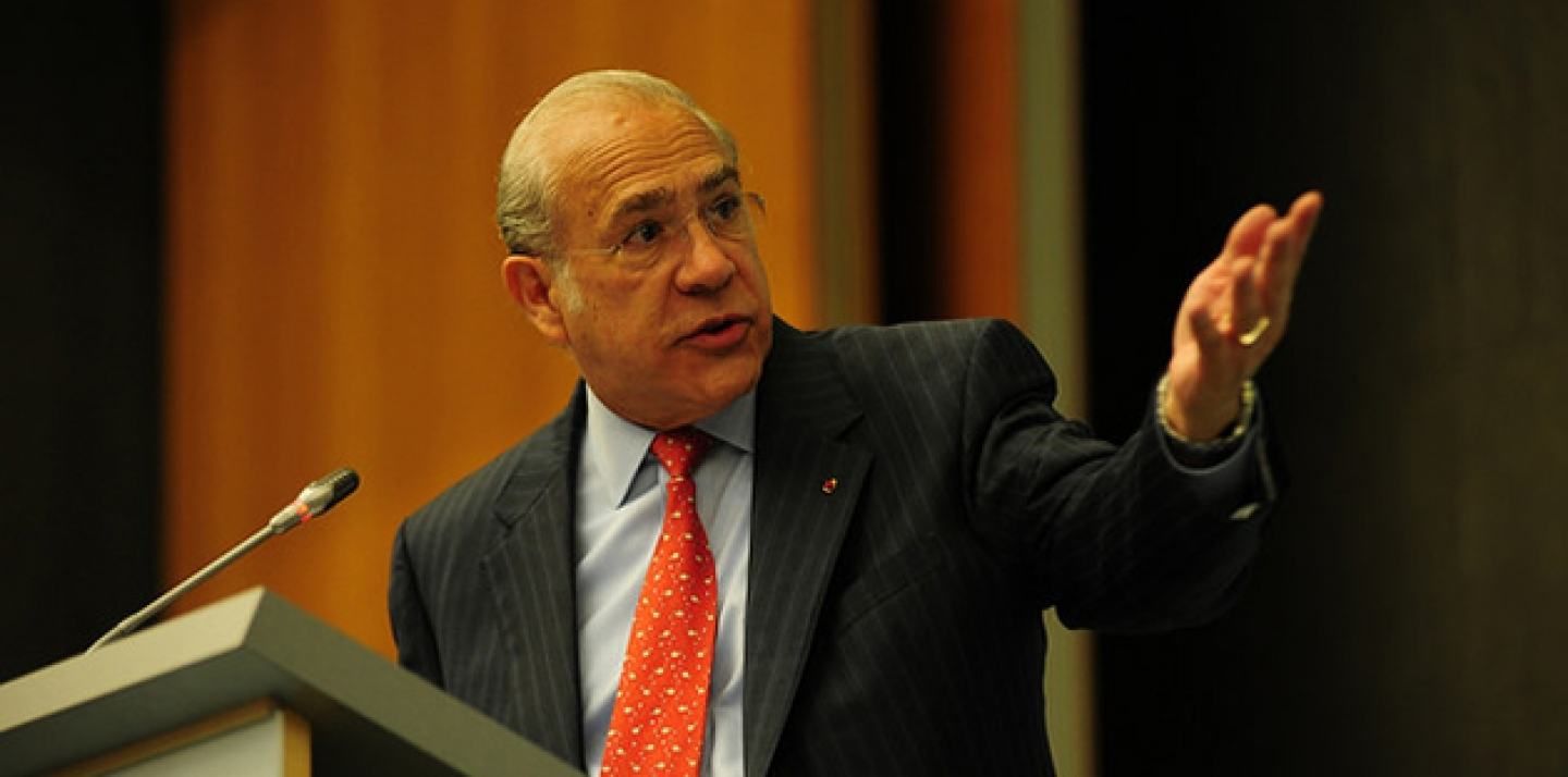 Angel Gurria, Secretary-General of the Organisation for Economic Co-operation and Development. (WTO/Studio Casagrande)