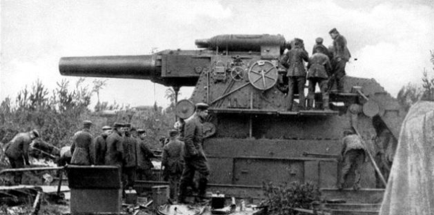 Big Bertha, 7 August 1914 before shelling Liège (Kriegs-Bild- und Filmam photo via Wikimedia). {PD-Canada}. The ECB mobilized its big gun — Super Mario — last week in the escalating currency war among G20 countries.