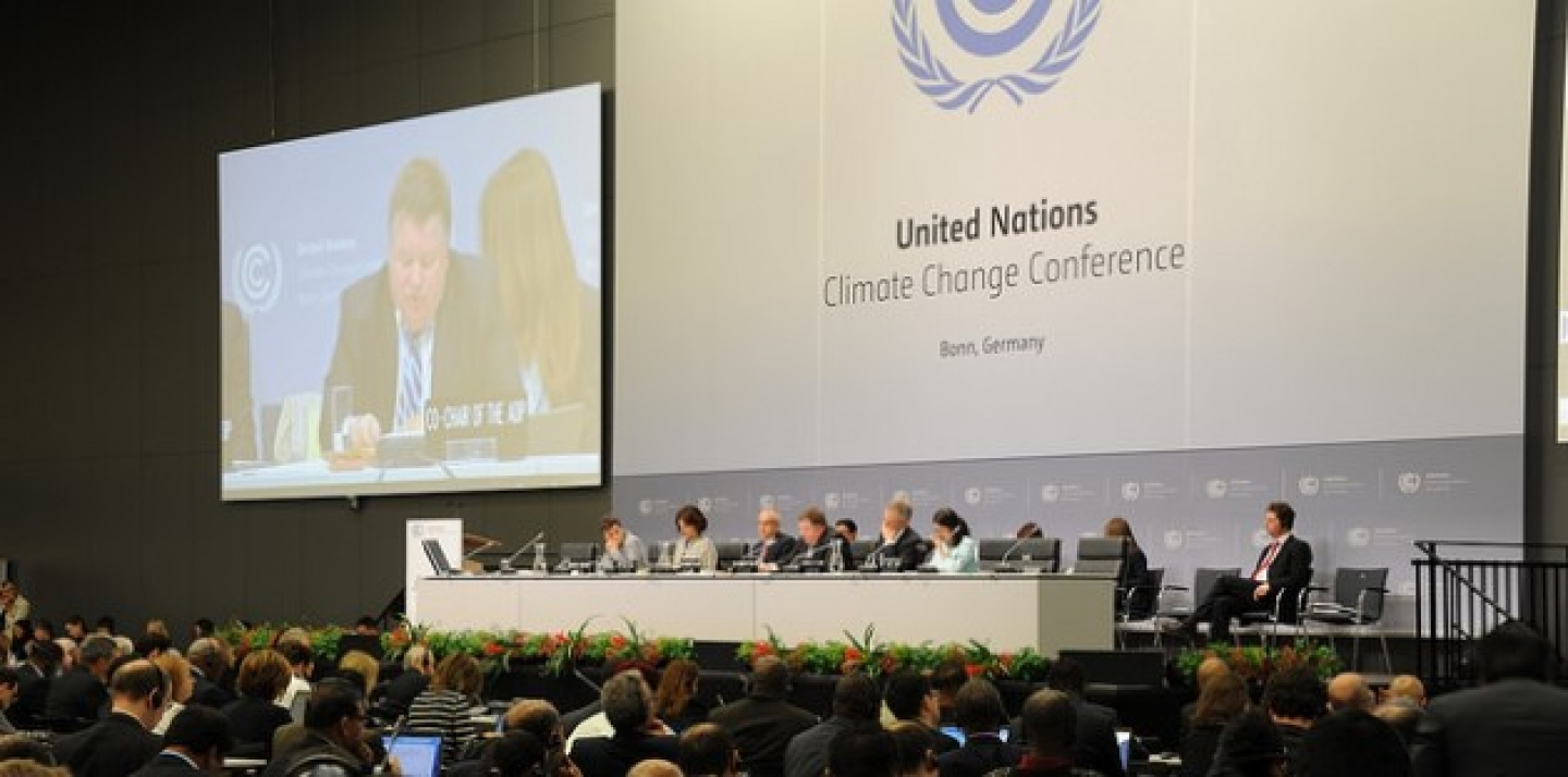 Bonn Climate Change Conference, June 1 2015. (UNClimateChange photo via Flickr CC)