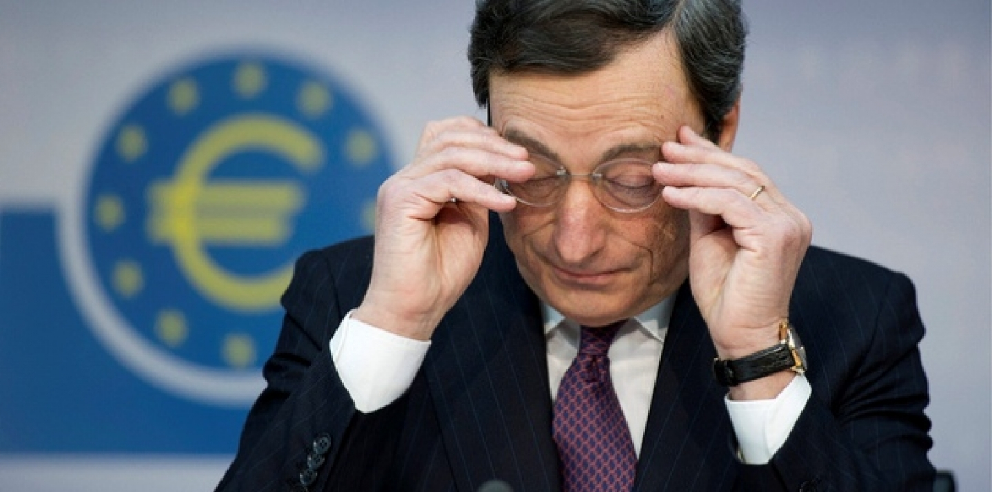 President of the European Central Bank, Mario Draghi, who warned European Union leaders that they should make the political choices needed to strengthen the euro rather than wait for emergency funding. (Thomas Lohnes/dapd)