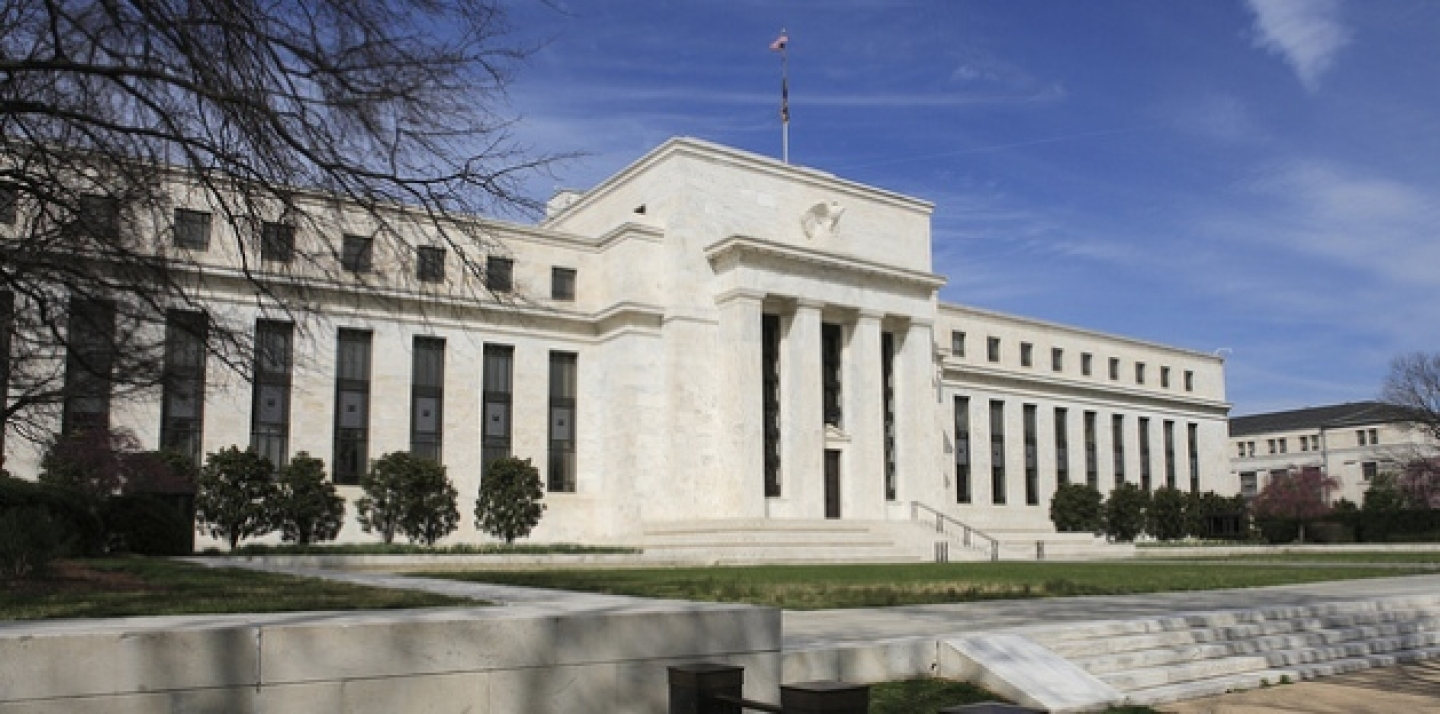 The United States Federal Reserve building in Washington, DC. (Shutterstock)