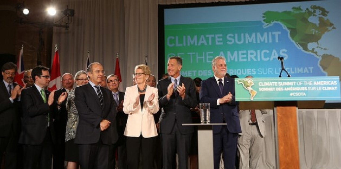 Climate Summit of the Americas. (Queen's Printer for Ontario, 2015)