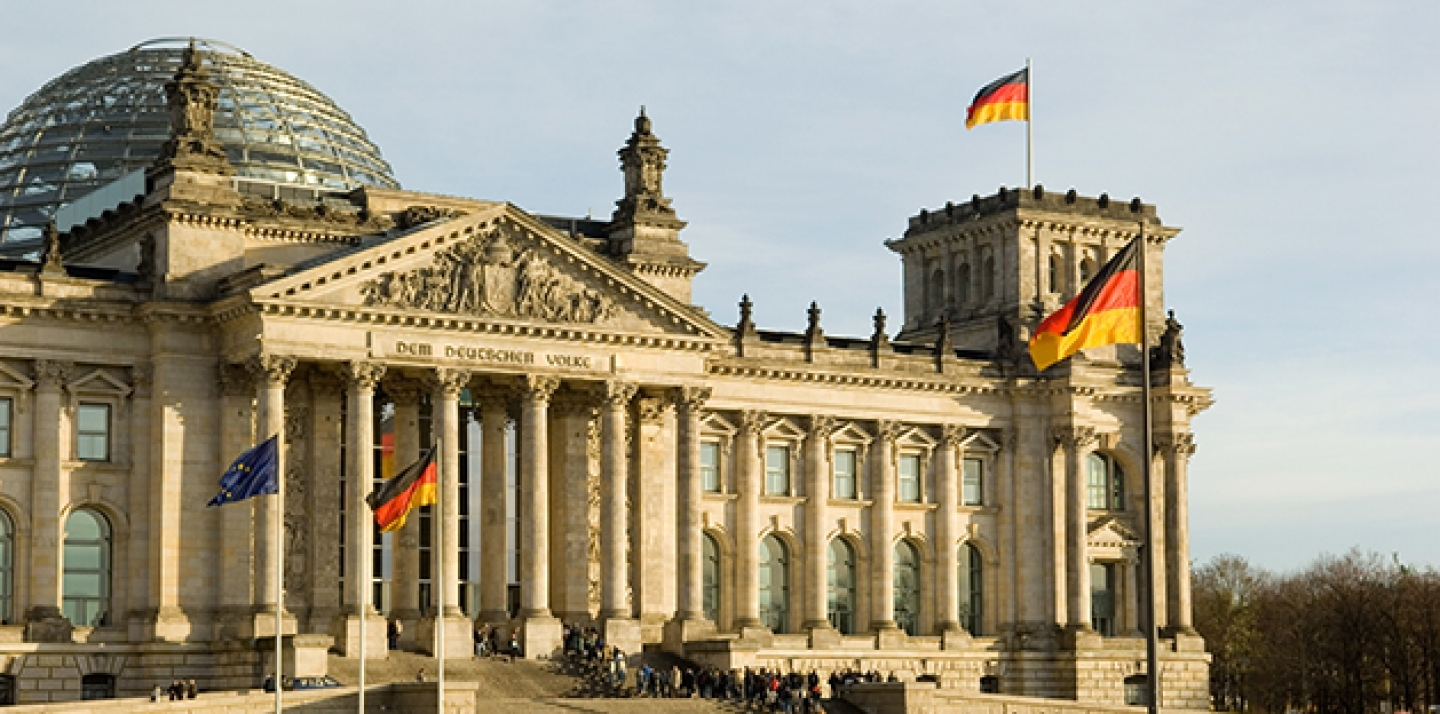 Reichstag building in Berlin, Germany. (Shutterstock)