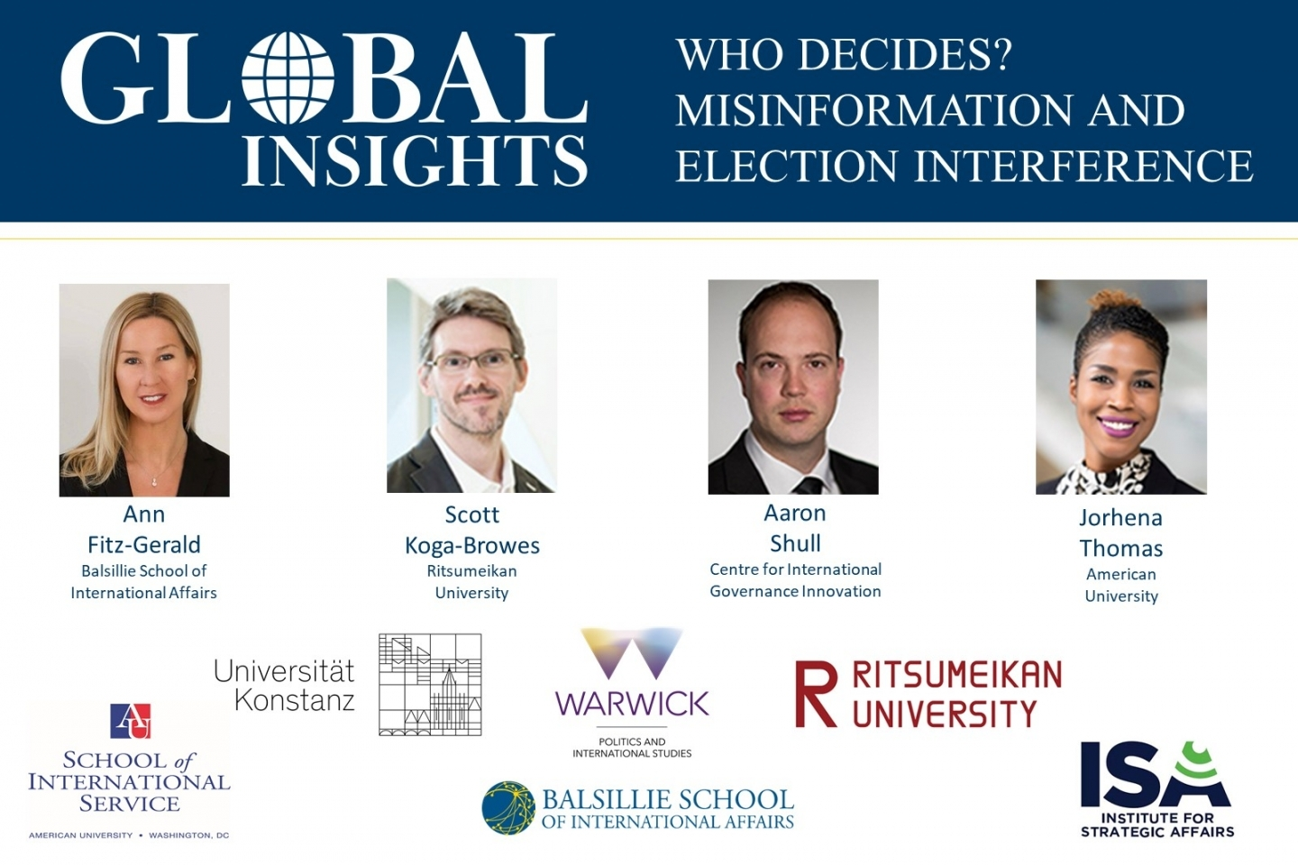 Global Insights: Who Decides? Misinformation and Election Interference