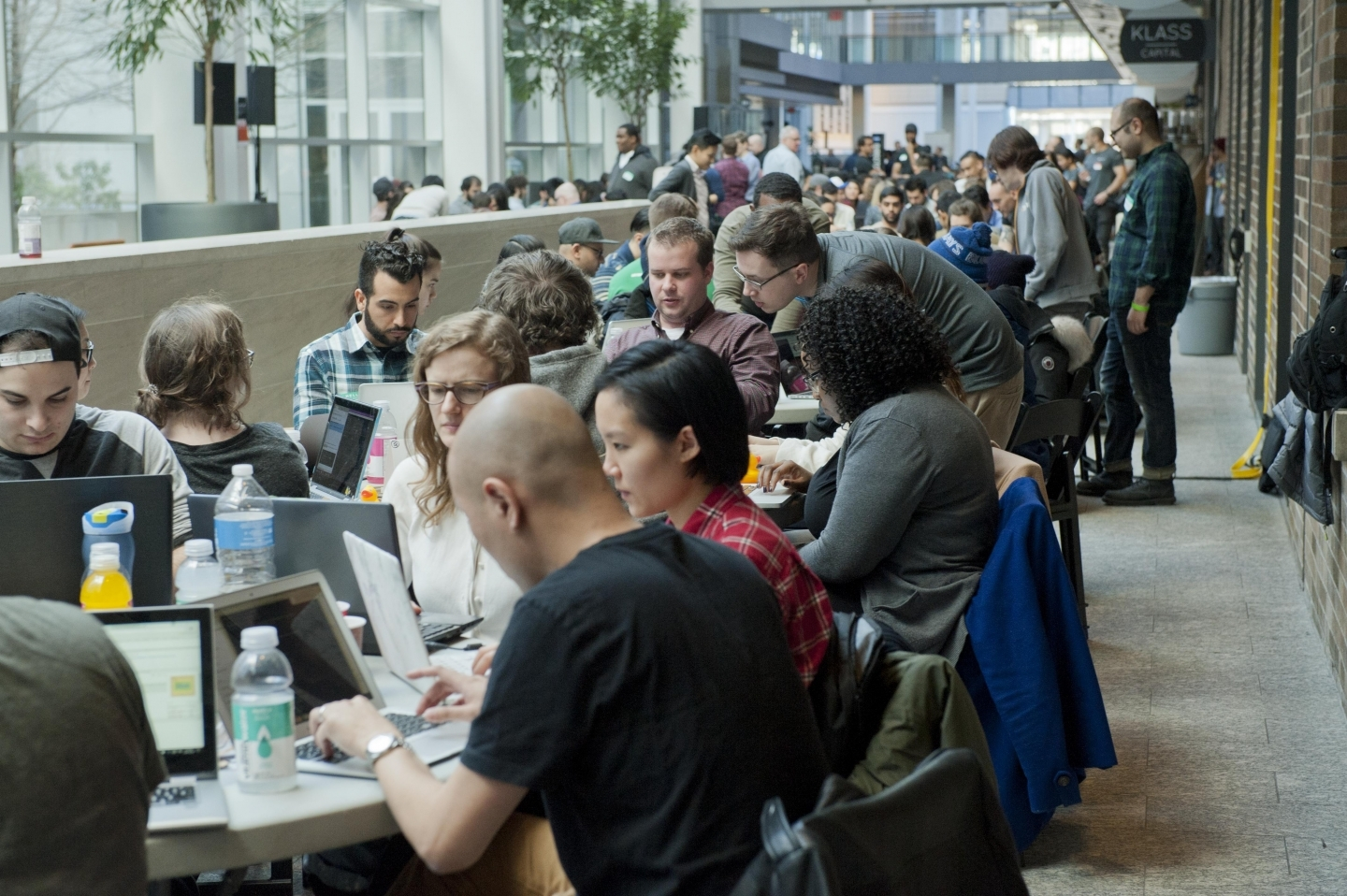 A hackathon in the MaRS Discovery District. (MaRS Photo)