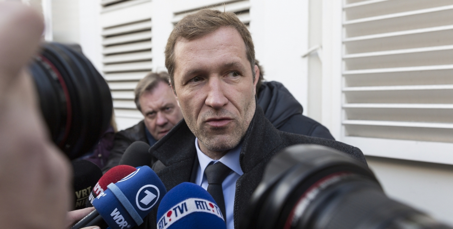 Regional leader of Wallonia Paul Magnette (AP Photo/Thierry Monasse)