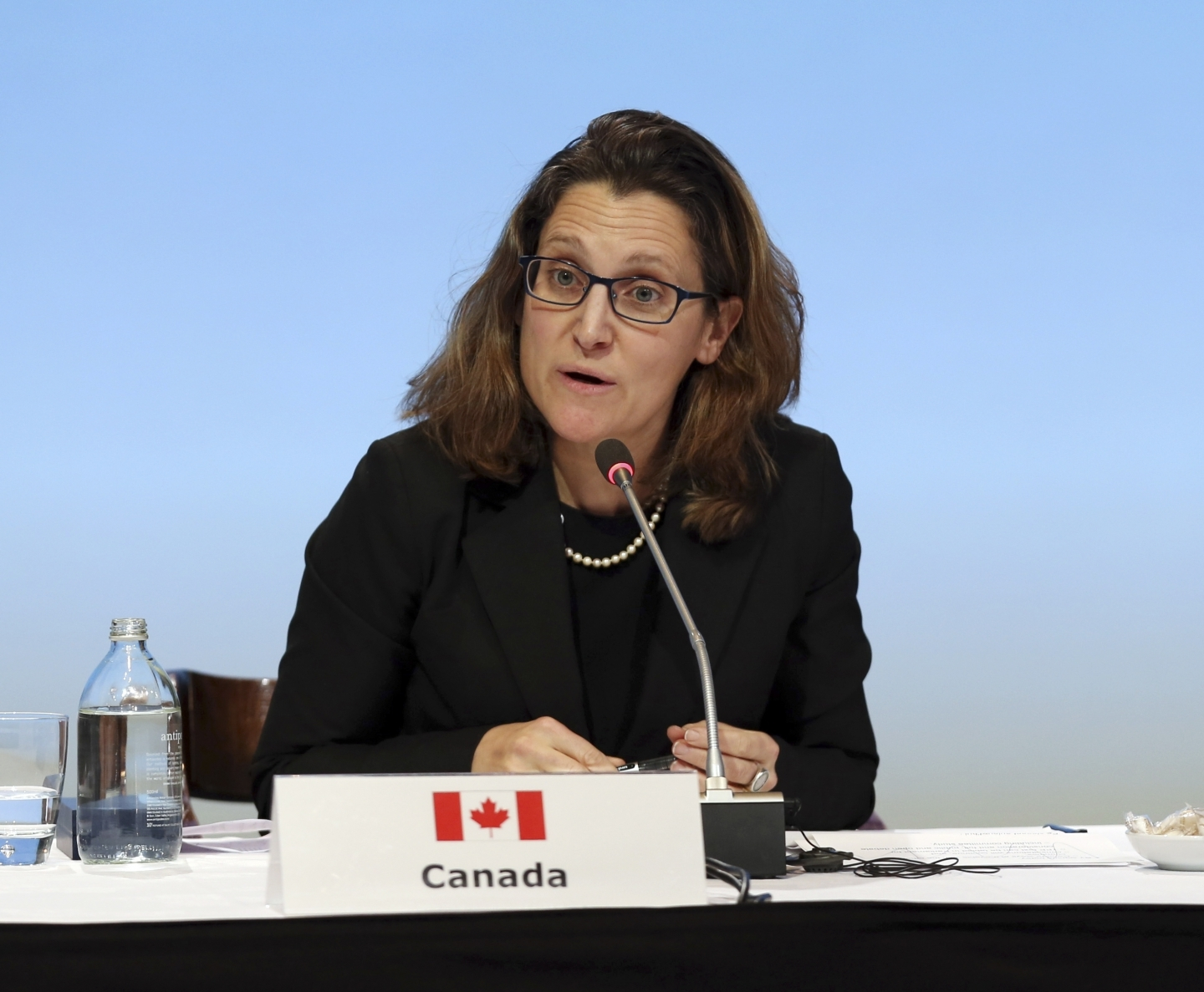 Chrystia Freeland (The Associated Press)