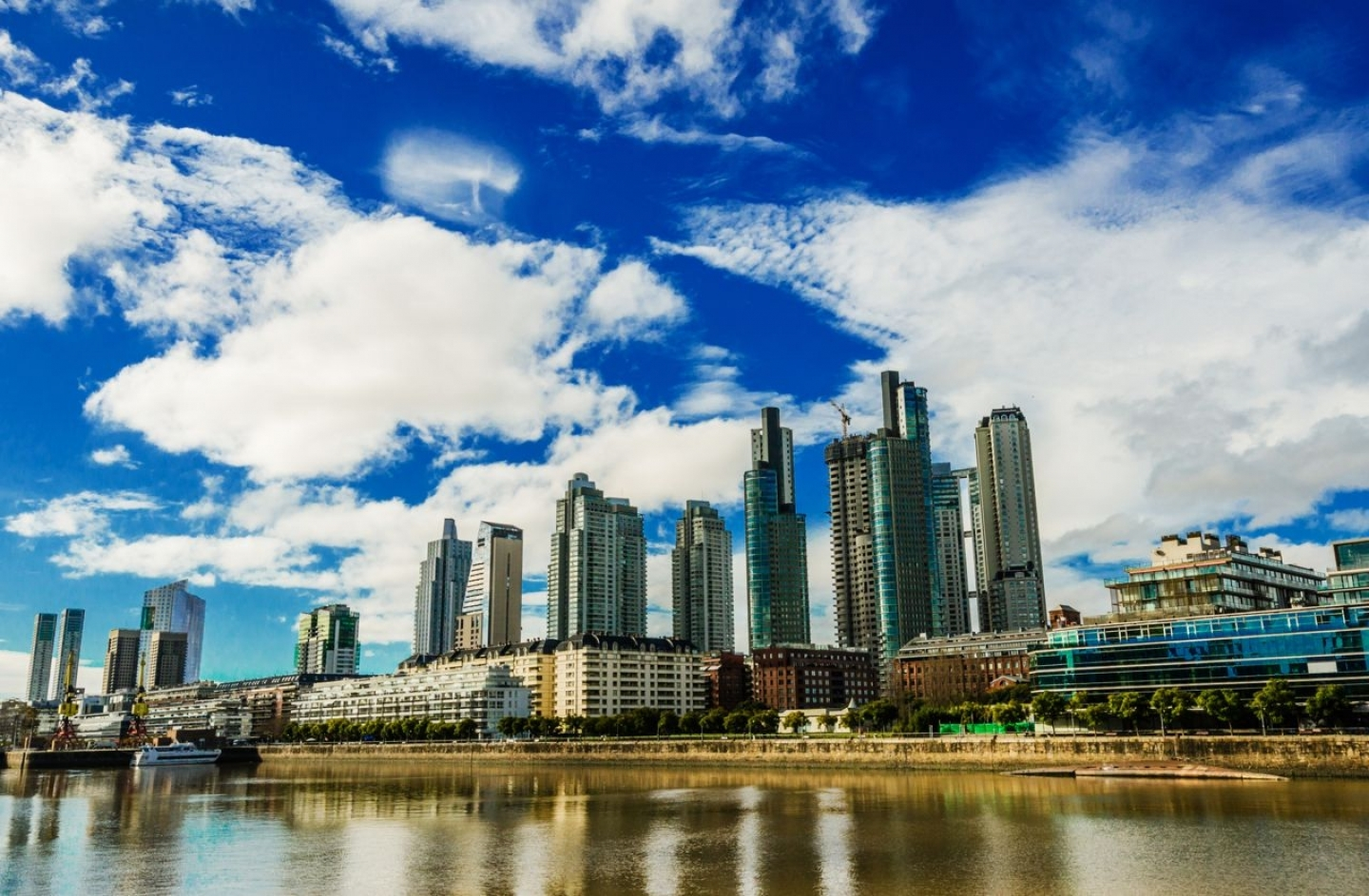 Skyscrapers are seen  in the Puerto Madero business district in Buenos Aires (Shutterstock)
