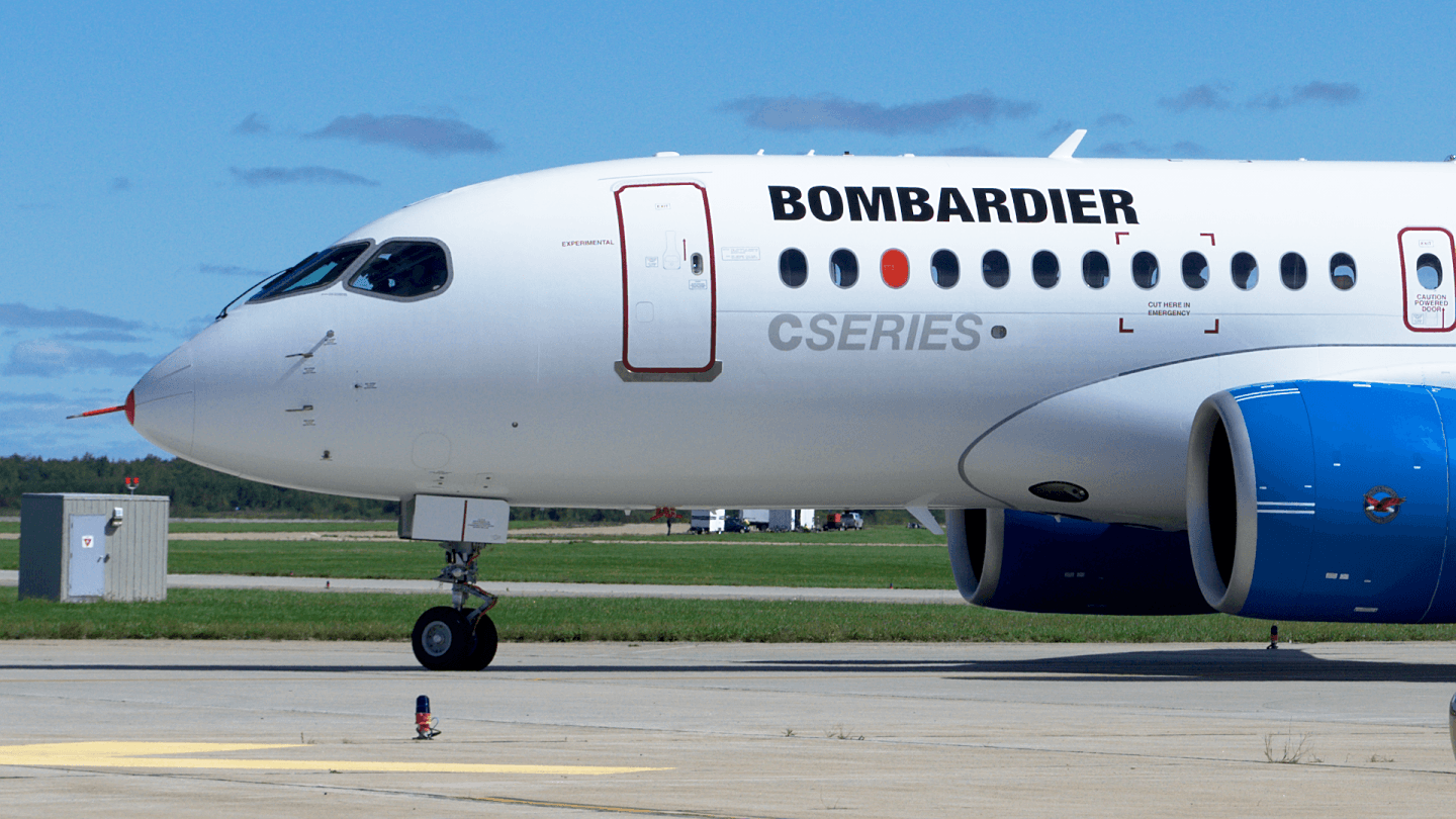 A countervailing duty of 220 per cent will be temporarily imposed on any Bombardier C Series aircraft sold in the United States (Yan Gouger Photo)