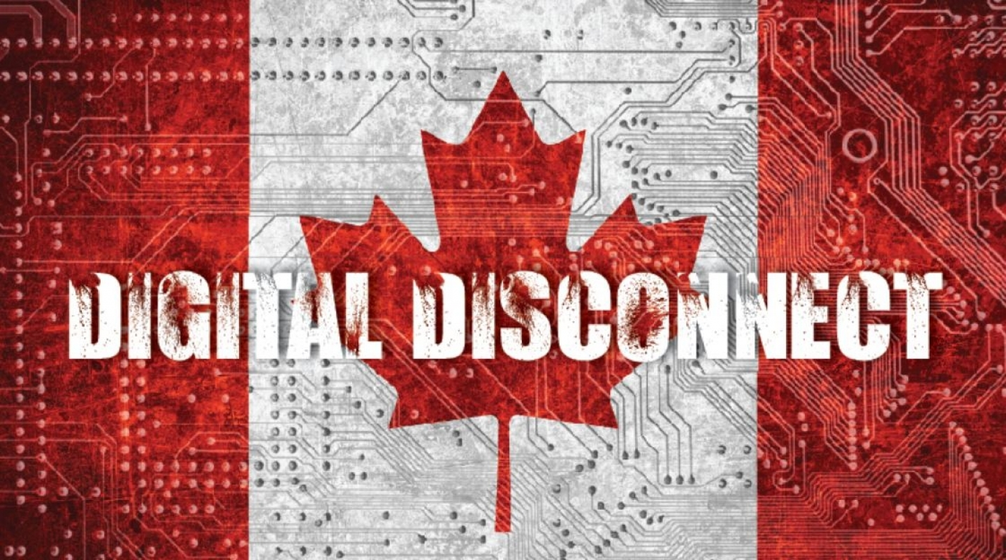 Digital Disconnect title card
