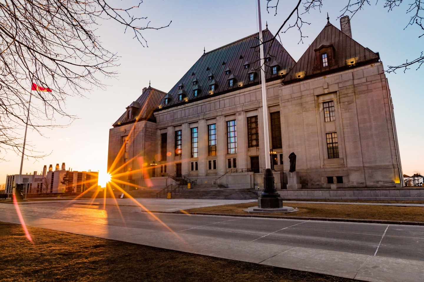 The Supreme Court of Canada. (Shutterstock)