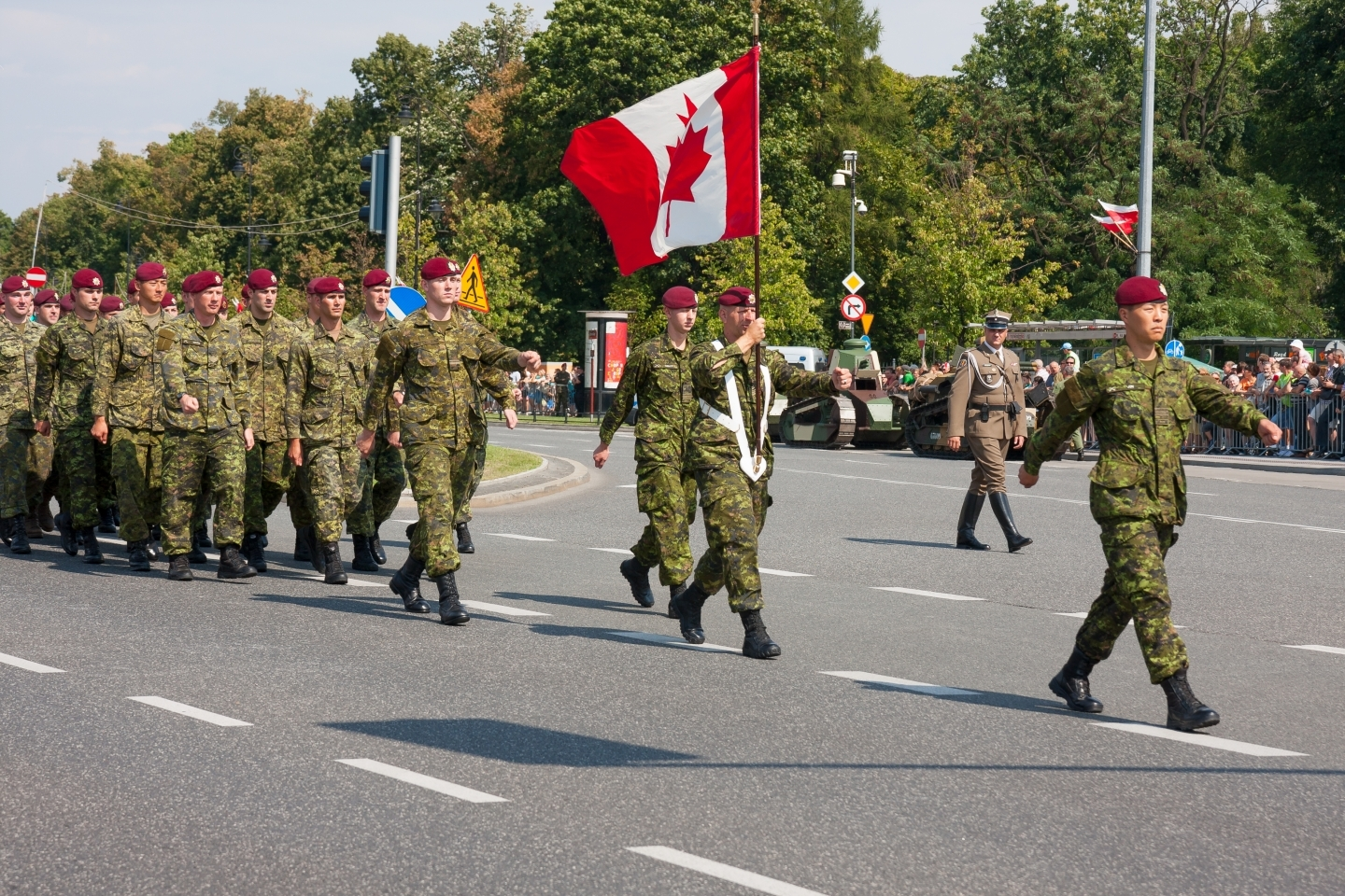 The Canadian Armed Forces have benefited from diversity. (Shutterstock)