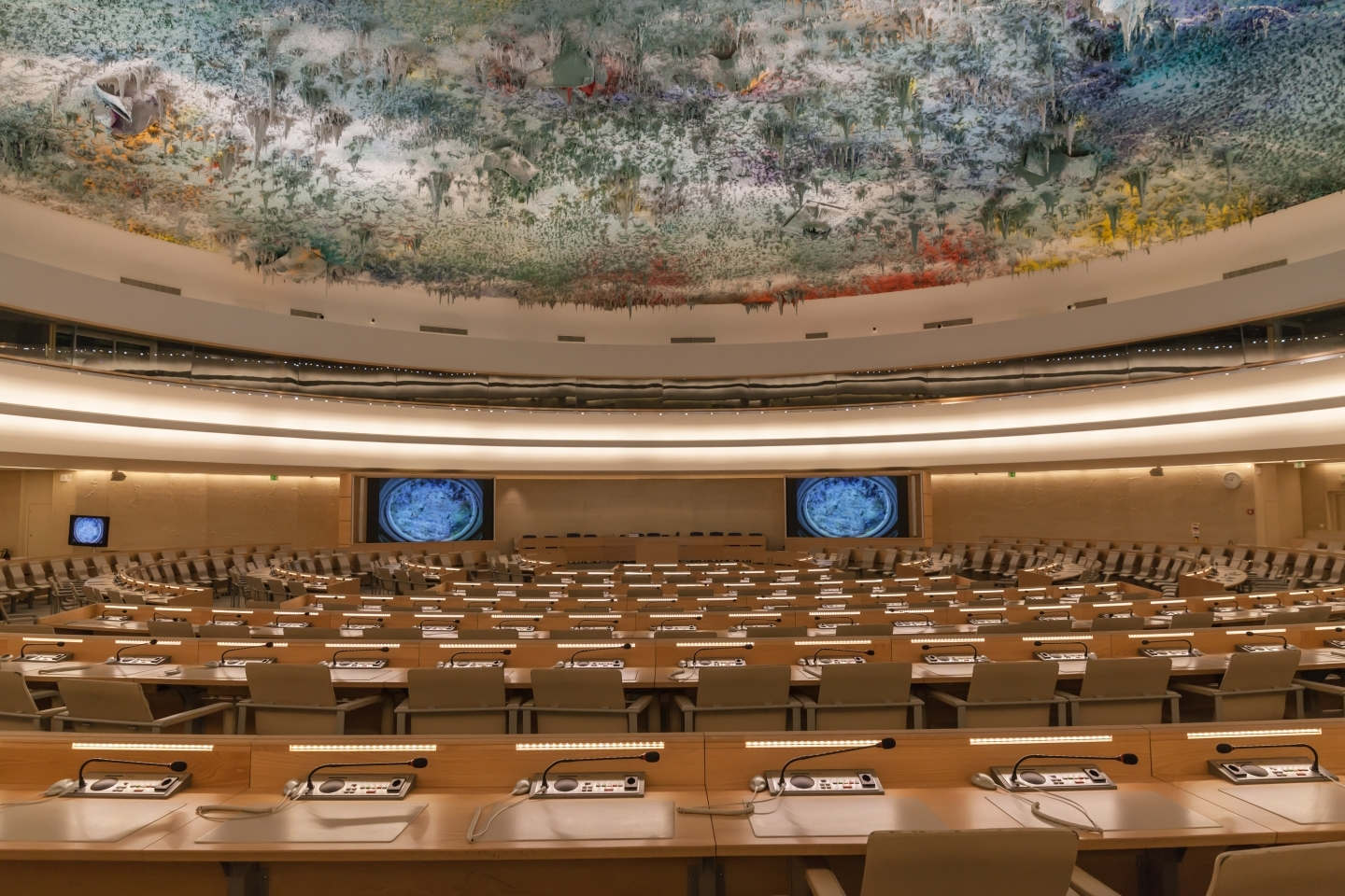 Human Rights and Alliance of Civilizations Room at the UN in Geneva (Shutterstock)