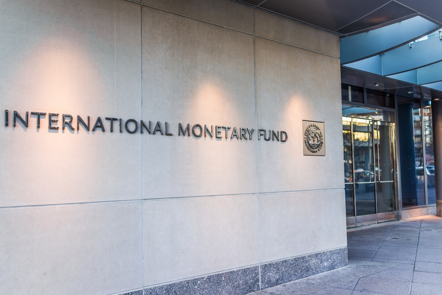 The IMF building in Washington DC (Shutterstock)