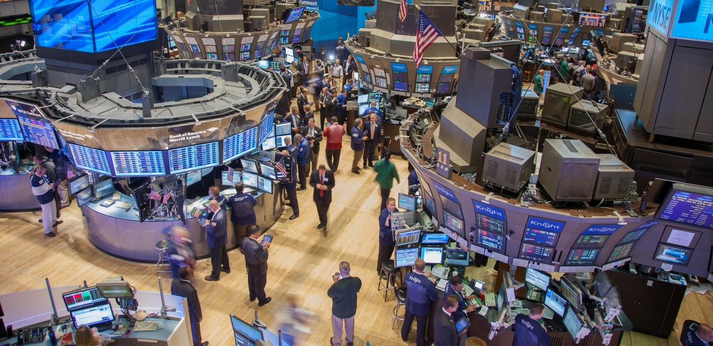 The New York Stock Exchange (Shutterstock)