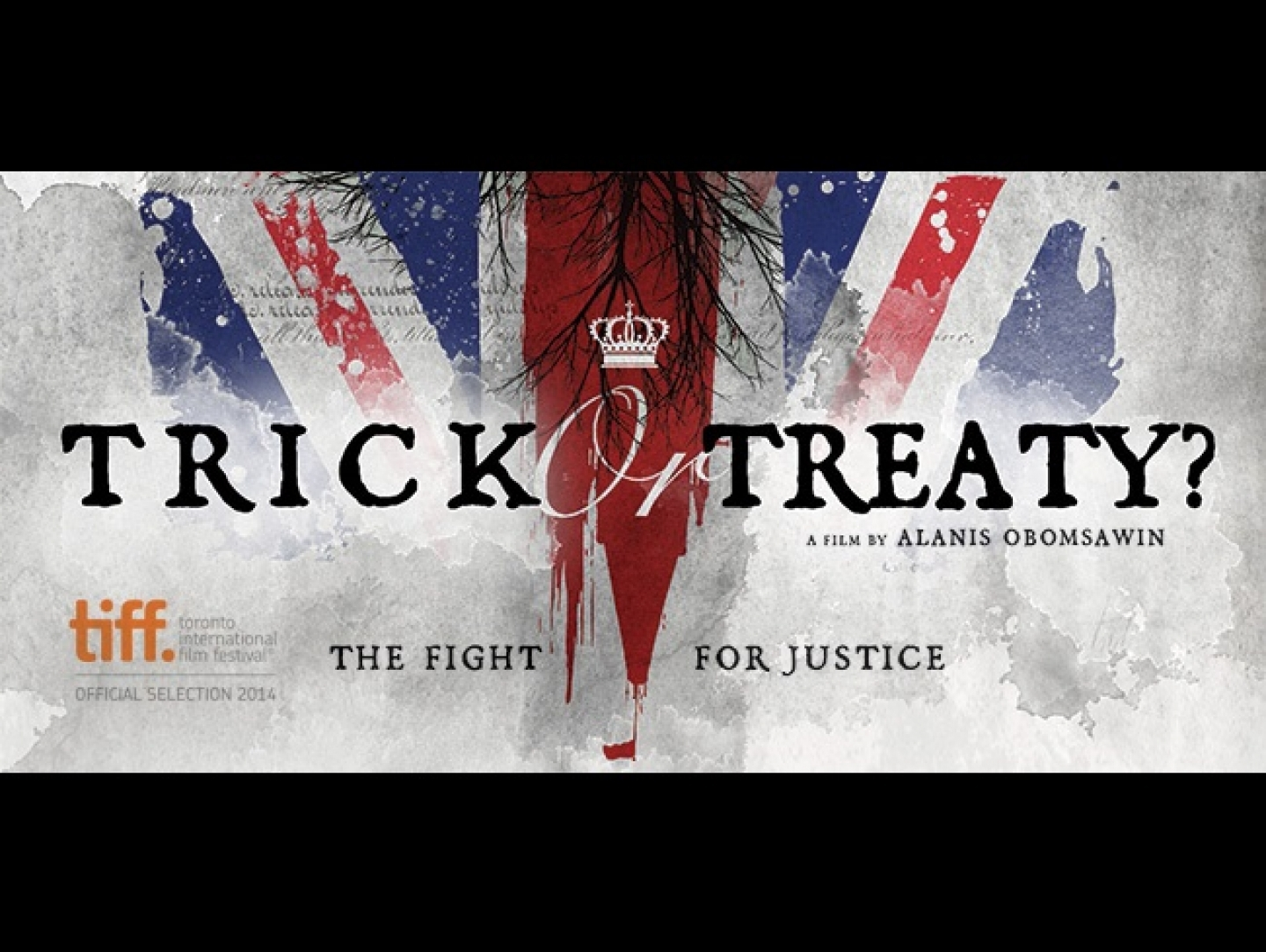 "Title Card for ""Trick or Treaty?"""