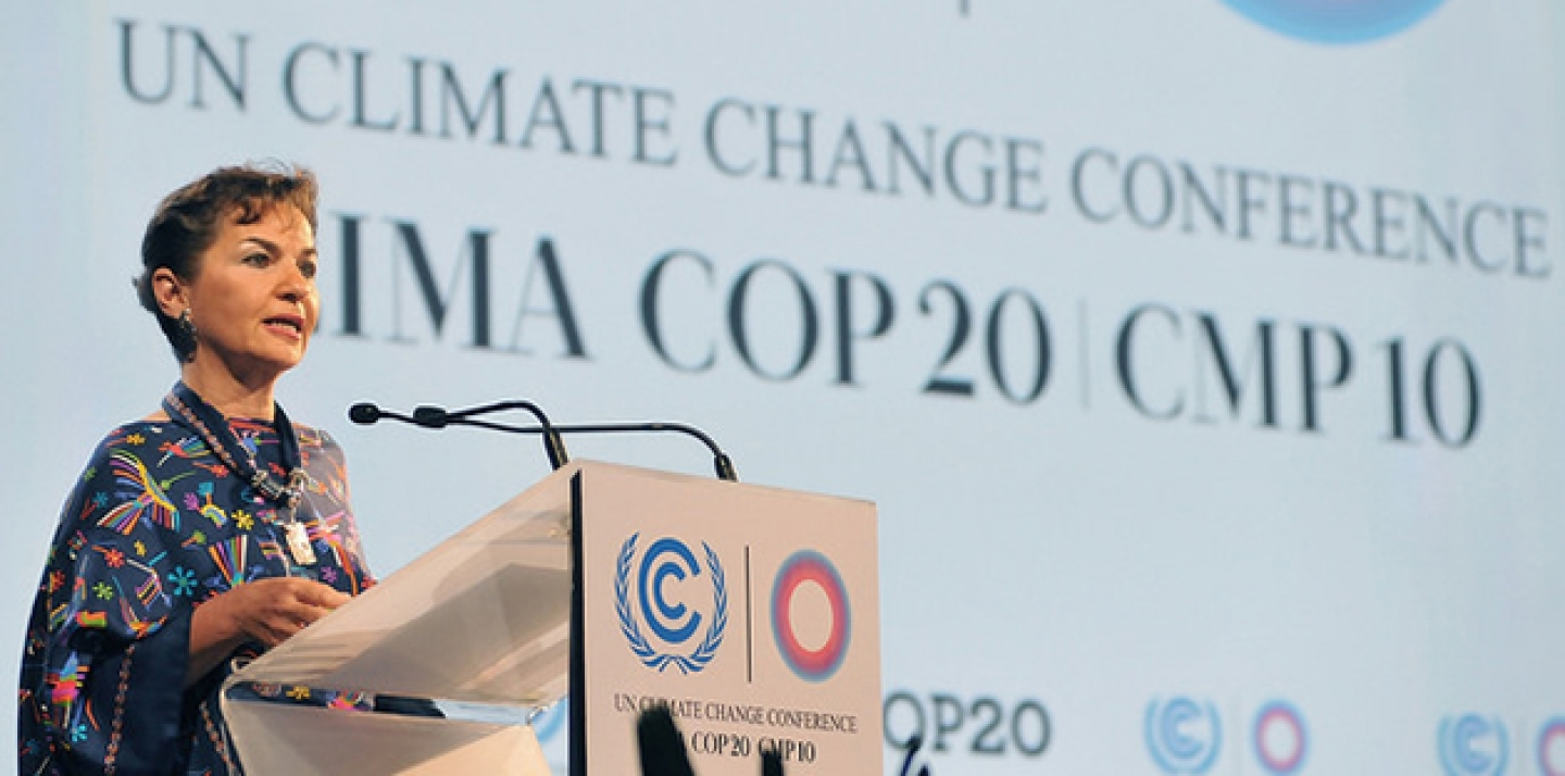 Christiana Figueres, Secretary to the UNFCCC. (Ministerio de Relaciones Exteriores Photo via Flickr CC)