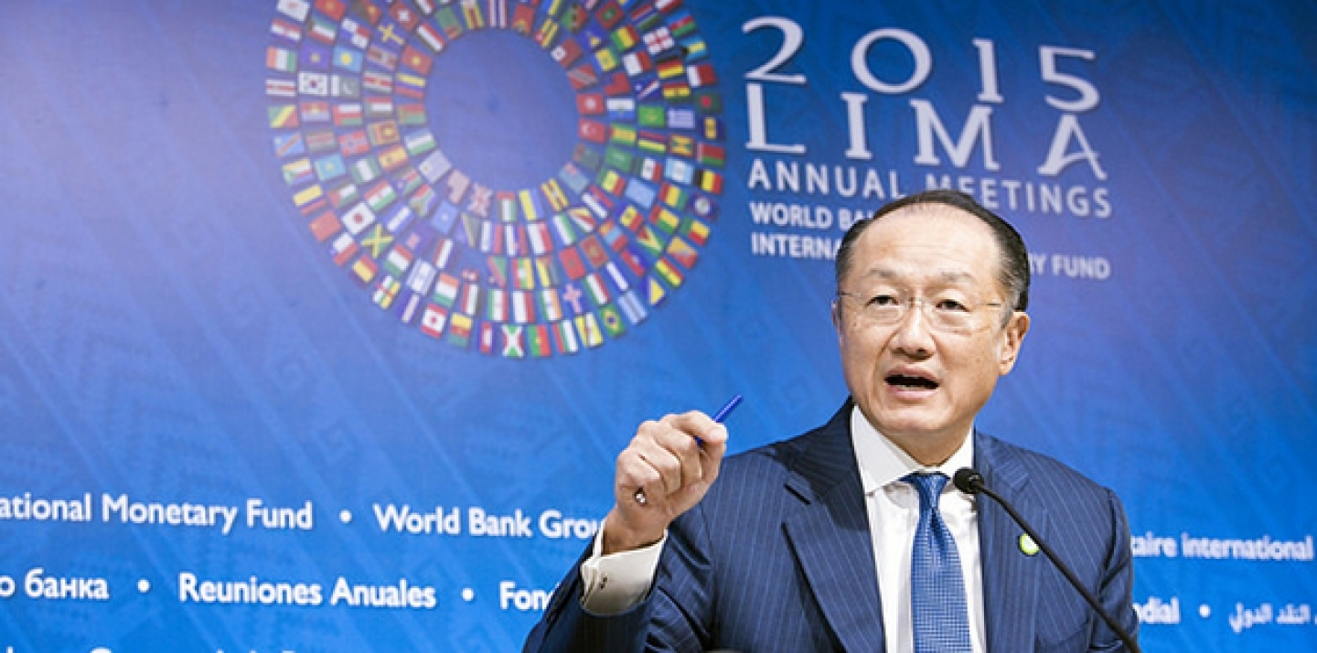 World Bank Group President Jim Yong Kim. (Photo: Simone D. McCourtie / WOrld Bank)