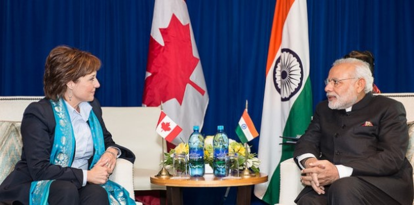 Premier Christy Clark welcomed His Excellency Narendra Modi, Prime Minister of India, to British Columbia. (BC Gov Photo via Flickr CC)