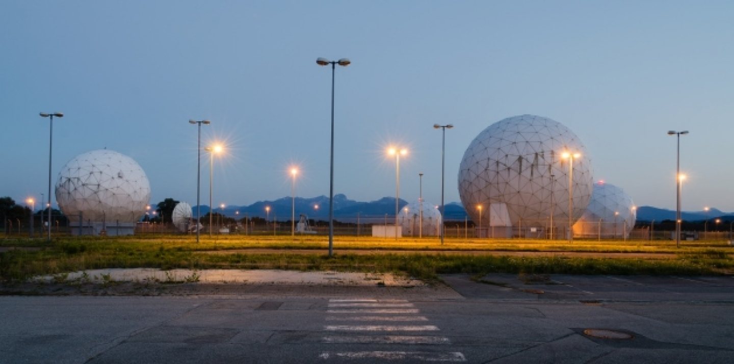 Radomes at the former United States Army Security Agency Field Station. (Shutterstock)