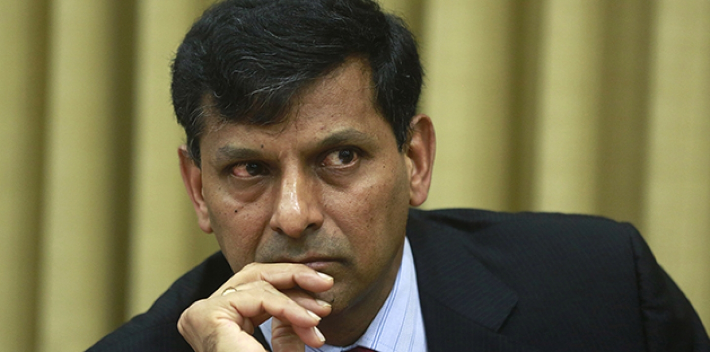 Reserve Bank of India (RBI) Governor Raghuram Rajan attends a press conference in Mumbai, India. (AP Photo/Rafiw Maqbool)