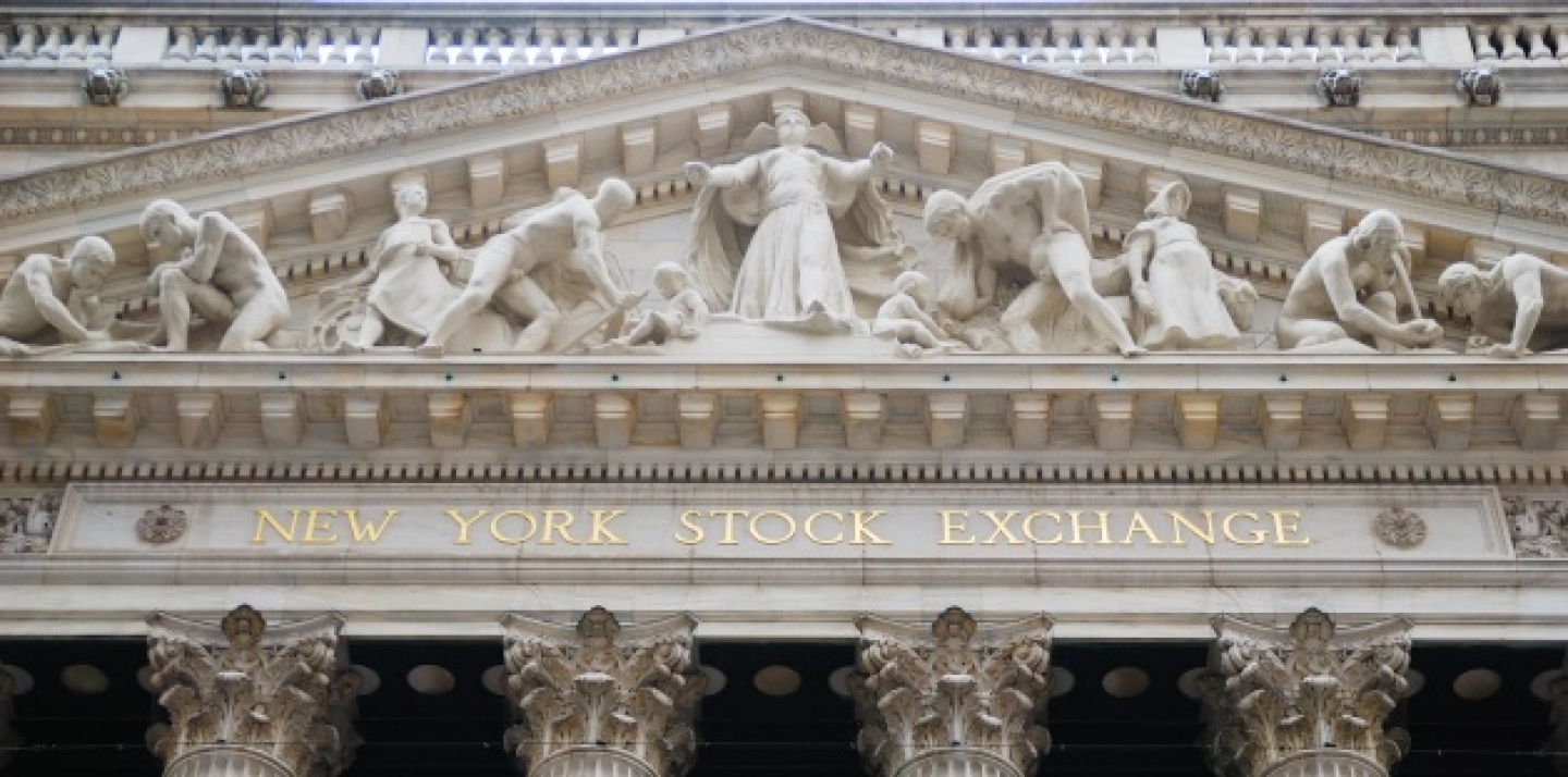 New York Stock Exchange. (Shutterstock)