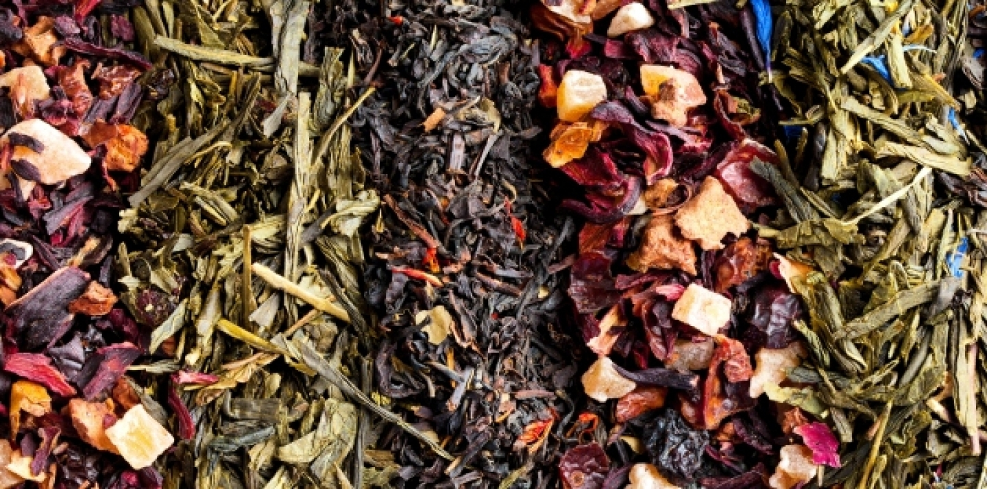 Varieties of dry tea (Shutterstock).