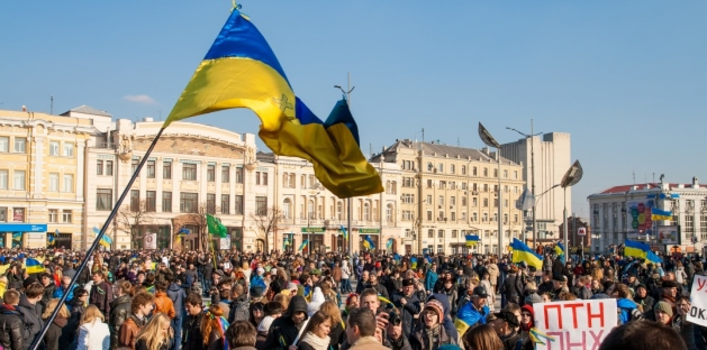 March 2014, Demonstration In Kharkiv (Shutterstock)