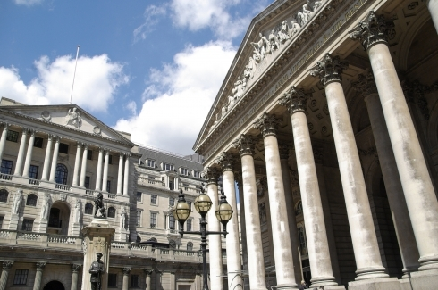 Royal Exchange and Bank Of England buildings