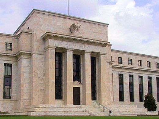 """Federal Reserve"" by Dan Smith - Own work. Licensed under CC BY-SA 2.5 via Wikimedia Commons)"