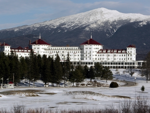 The Mount Washington Hotel in Bretton Woods, New Hampshire. (Reuters/Brian Snyder)