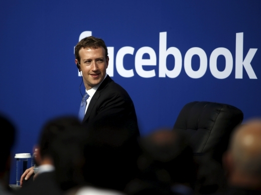 Facebook Chief Executive Mark Zuckerberg. (Reuters/Stephen Lam)