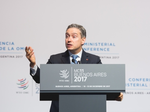 Minister François-Philippe Champagne at the World Trade Organization Ministerial Conference (WTO/ Cuika Foto)