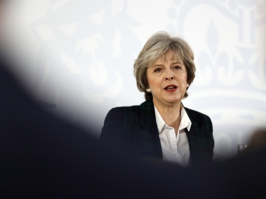 British Prime Minister Theresa May (AP Photo)