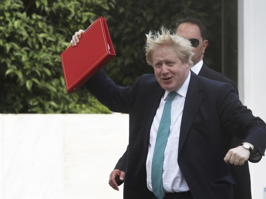 British Foreign Secretary Boris Johnson (AP Photo)