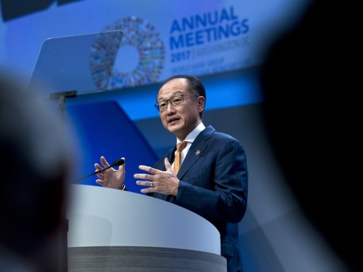 World Bank Group President and Chairman of the ICSID Administrative Council, Dr.Jim Yong Kim. (AP Photo/Jose Luis Magana)