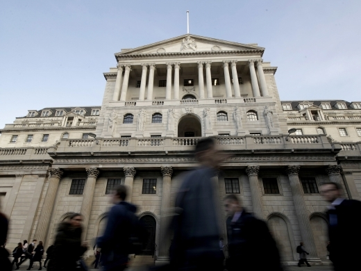 The Bank of England. (AP Photo/Matt Dunham)