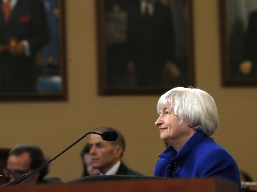 Federal Reserve Chair Janet Yellen attends a hearing of the Federal Reserve Board Joint Economic Committee, Wednesday, November 29, 2017. (AP Photo/Jacquelyn Martin)