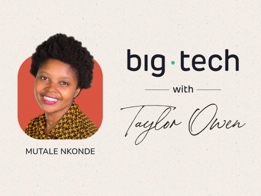 Mutale Nkonde on How Biased Tech Design and Racial Disparity Intersect