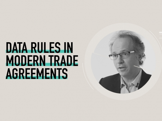 Michael Geist on data rules in modern trade agreements