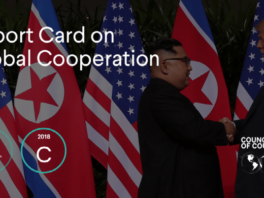 From Russia to China to Brazil, experts from think tanks around the world gave international cooperation a C grade in 2018.