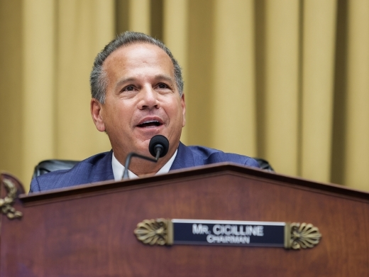 US Congressman David N. Cicilline (Graeme Jennings/Pool via REUTERS)